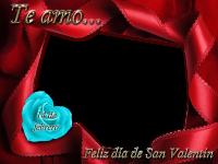 te amo san valentin